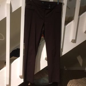 Style and Company petite brown slacks